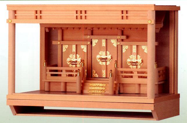 18号 お宮 神殿■ 大雪 神棚 ■箱宮【日本製】