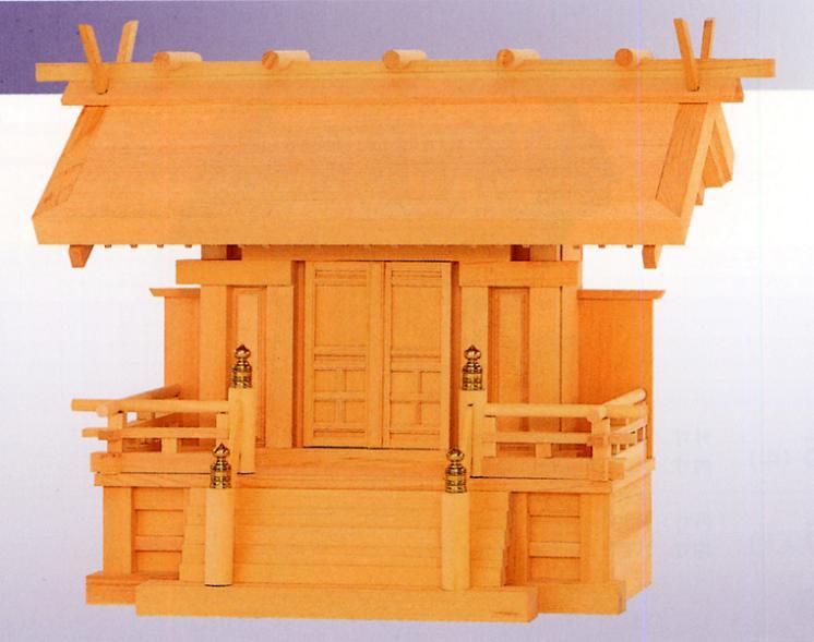 お宮 神棚 神殿■ 白鳳一社 唐戸 ■特撰神殿【日本製】