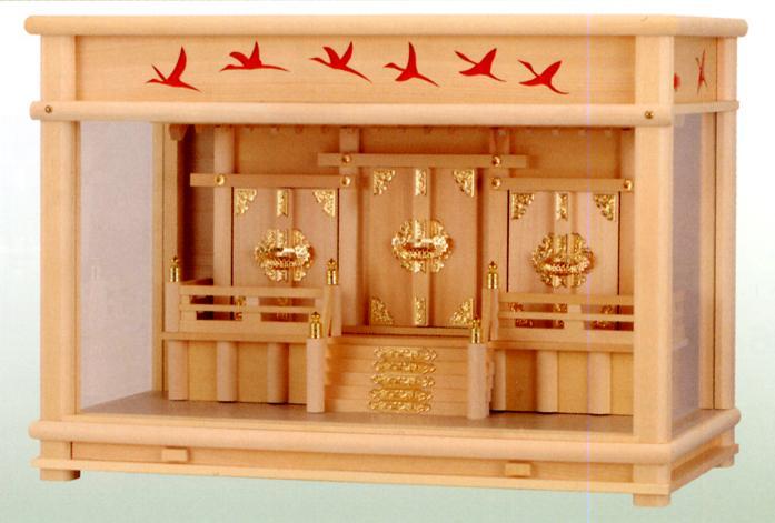 お宮 神棚 神殿■ 鶴 18号 ■箱宮【日本製】