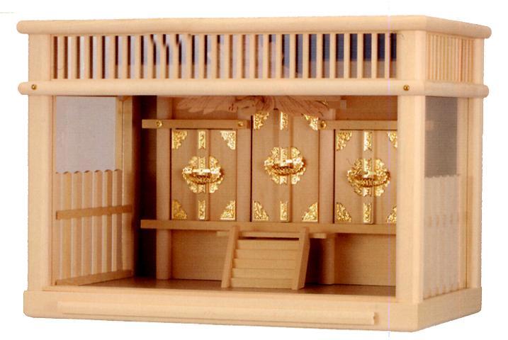 お宮 神棚 神殿■ 鈴蘭 18号 ■箱宮【日本製】