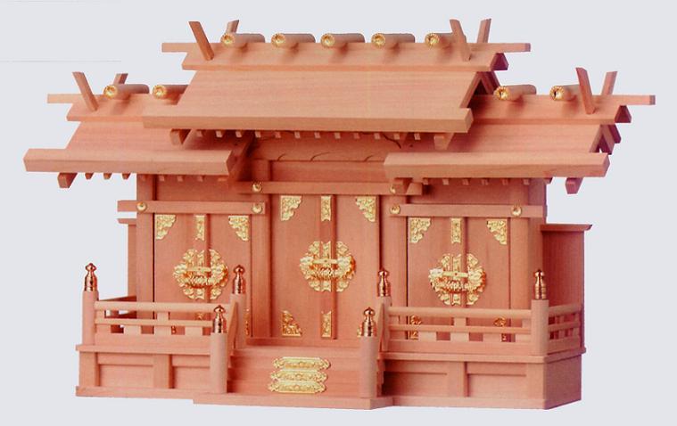 お宮 神棚 神殿■ 出雲(扉金具) 大 ■特撰神殿【日本製】