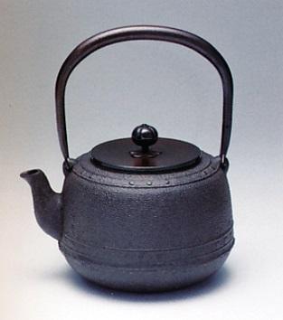 茶器・茶道具■ 鉄瓶 万代屋 ■佐藤清光作 鋳鉄製【高岡銅器】