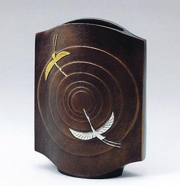 花器・花瓶■ 宴 ■銅製 桐箱入り【高岡銅器】