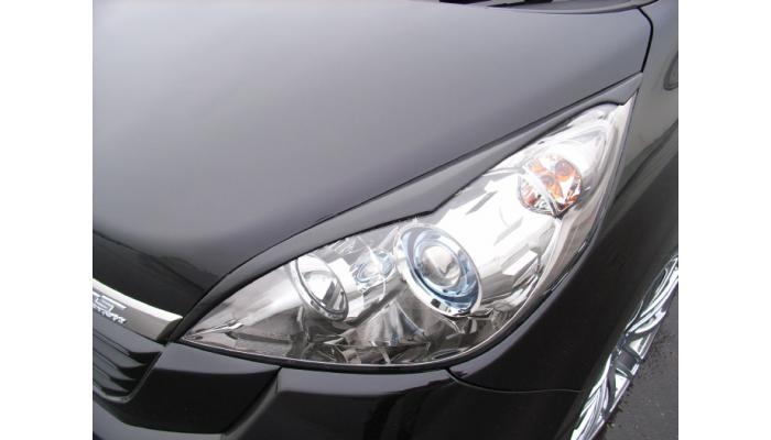 AMS アイライン・ガーニッシュ ステップワゴン RG1/2/3/4【LUXEYES】未塗装品
