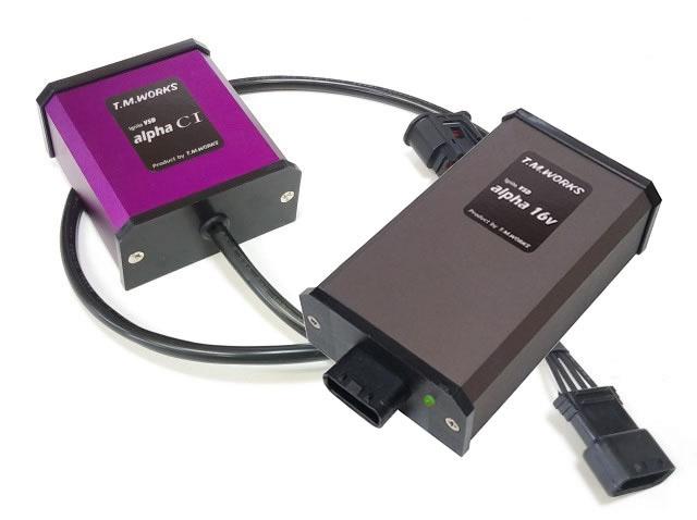 T.M.WORKS 新型IgniteVSD alpha16V+alphaCI ハーネスセット イプサム ACM21/ACM26