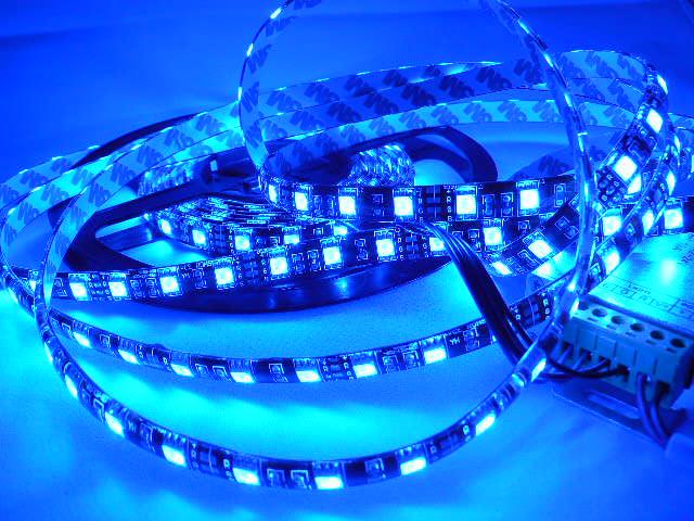 LEDテープ 防水 5m巻 RGBコントローラー電源セット