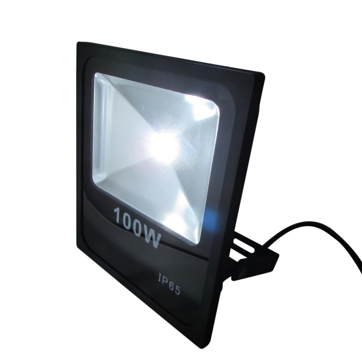 LED投光器 薄型 防水仕様 消費電力100W型