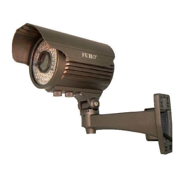 防犯カメラ 41万画素 バリフォーカル防水暗視カメラ 映像ケーブル25mと電源アダプターセット