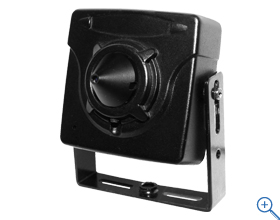 防犯カメラ200万画素 AHDフルHD ピンホールカメラ 映像ケーブル25mと電源アダプターセット