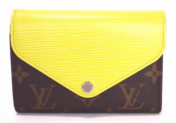 14af252b9848 Unused Louis Vuitton wallet EPI Monogram wallet Marielle compact yellow  M60427 LV men s women s LOUIS VUITTON Louis-Vuitton Louis Vuitton Louis  Vuitton