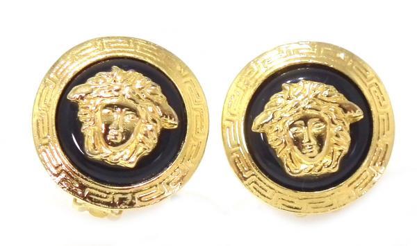 3faee03e6db Mint Versace earrings Medusa GP gold x black VERSACE accessories earrings  for women