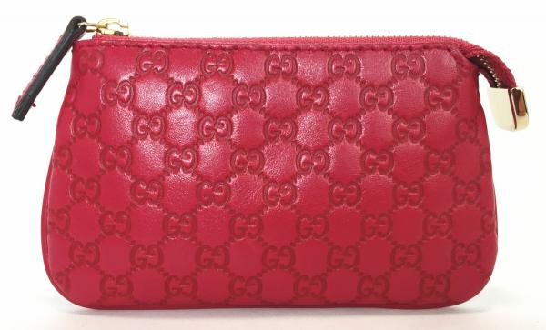 beef9afa6562 Brandeal Rakuten Ichiba Un Gucci Micro Guccissima Coin. Coin Case 233183  Sima Leather Red X Gold Metal Ings Gucci Wallet Purse