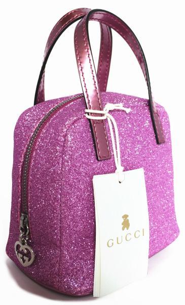 3367ece1fcb Unused Gucci child handbags glitter pink pouch 311173 children s GUCCI  accessory pouch bag