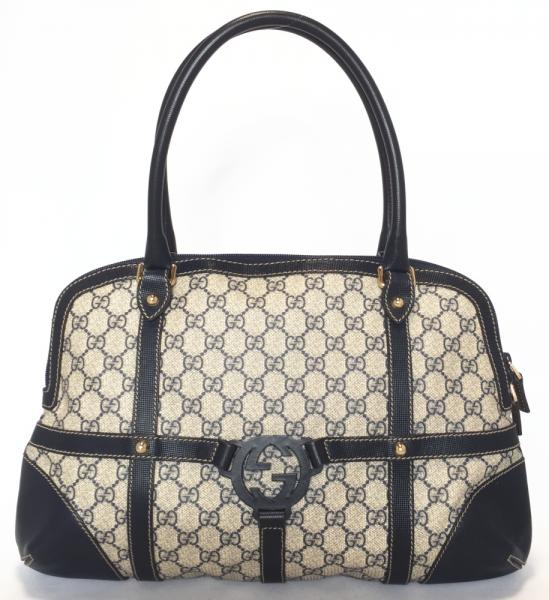 2ece8c7f514 Gucci GG plus Tote shoulder bag GG Supreme GG women s GUCCI Navy PVC beauty  products