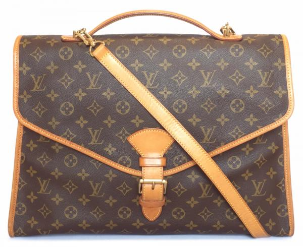 d8a4f6d11c06 Louis Vuitton Monogram Beverly business bag 2-WAY paper bag M51121 shoulder  strap with LV Vuitton LOUIS VUITTON Louis Vuitton Louis Vuitton document bag  ...