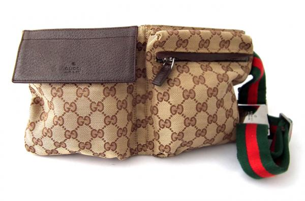 e0c76c52f64238 Brandeal Rakuten Ichiba Shop: Gucci waist bag GG canvas 28566 Sherry ...