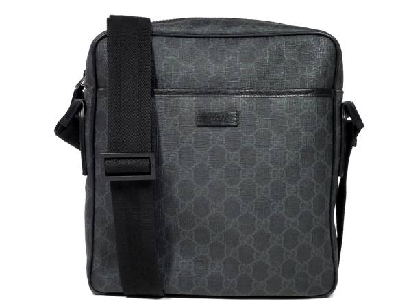 2348b07d8ed0 Gucci GG plus shoulder bag 162907 diagonal black mens ladies black GUCCI  diagonal shoulder men s PVC Messenger