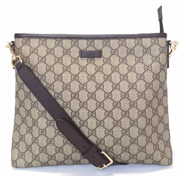74d21bb4 As well as brand new Gucci Messenger bag shoulder bag diagonally over GG  Supreme GG plus men's ladies 388924 GUCCI men and women for both commuting