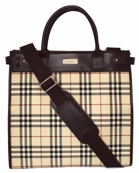 11d55e5c912b Burberry shoulder bag tote bag 2-WAY beige check Nova check BURBERRY  commute commuting unisex leather