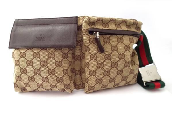 dc7c63726f5 Brandeal Rakuten Ichiba Shop  Gucci waist bag belt bag canvas Sherry  Crossbody Shoulder bag GUCCI 28566 mens Womens unisex GG