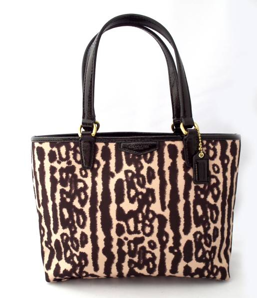 Unused Coach Mini Tote Lunch Bag Pattern Women S