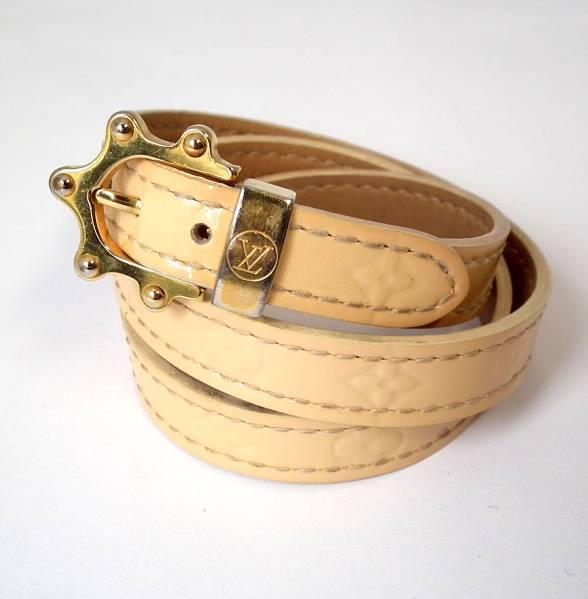 342b67d06154e Louis Vuitton Vernis bracelet triple b Monogram Las re triple tours M91403  Noisette accessories women s LV Vuitton LOUIS VUITTON Louis Vuitton Louis  Vuitton