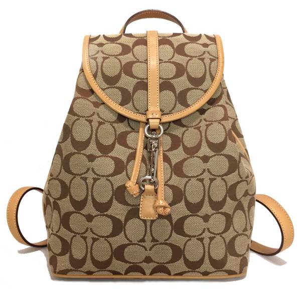 Coach signature Backpack Backpack 6613 beige COACH women s beauty products 38e23d5805a95