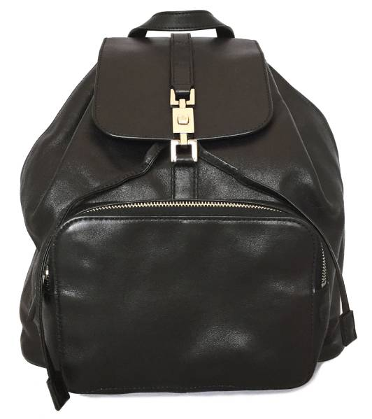Gucci backpack leather Jackie rucksack backpack black black women\u0027s GUCCI  Jackie fittings