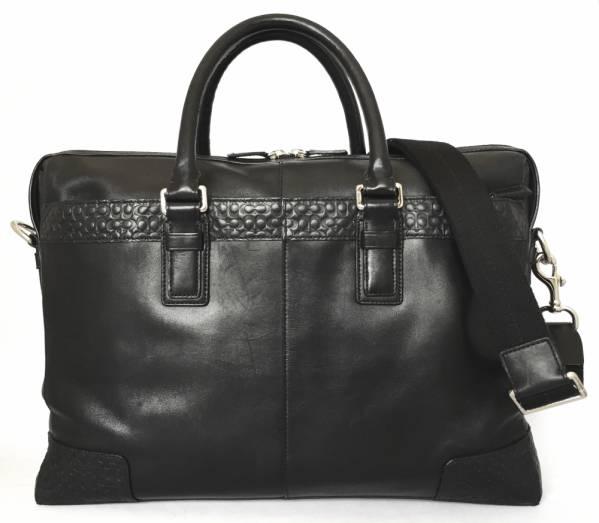 4bcc25e7d9 Coach Briefcase 2-WAY leather signature business bags F70454 document bag