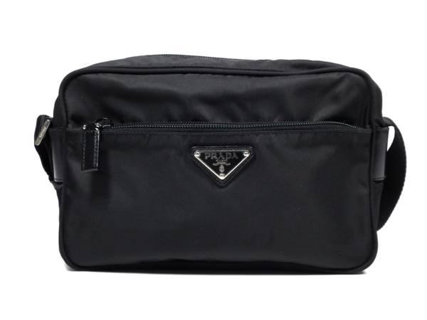 a72ded430185 Prada shoulder bag nylon diagonal seat BT0167 black black men and women and  for women's men's ...