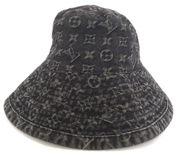 Louis Vuitton Monogram Denim Hat shapomono g N80207 hats  L black black  women s beauty products LV Vuitton LOUIS VUITTON Louis Vuitton Louis Vuitton 2740e54d3fc