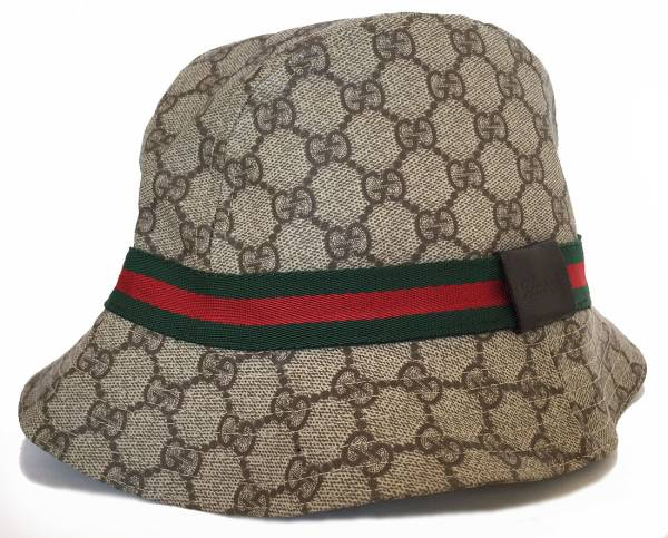 85ed8ca42 Gucci Hat GG plus Hat Sherry GG mens Womens unisex PVC GUCCI GG pattern  beige