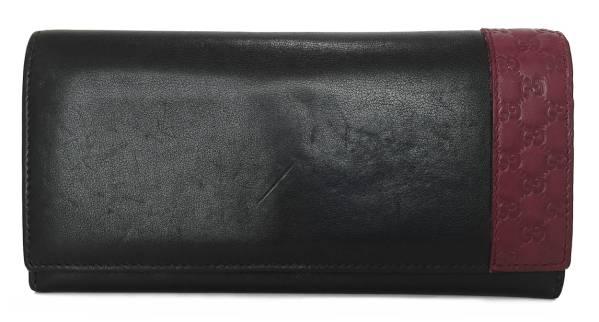 178fb2330f8d Gucci long wallet mens black Black GG guccissima two bi-fold wallet 25643  4GUCCI Bordeaux Micron GCH guccissima leather