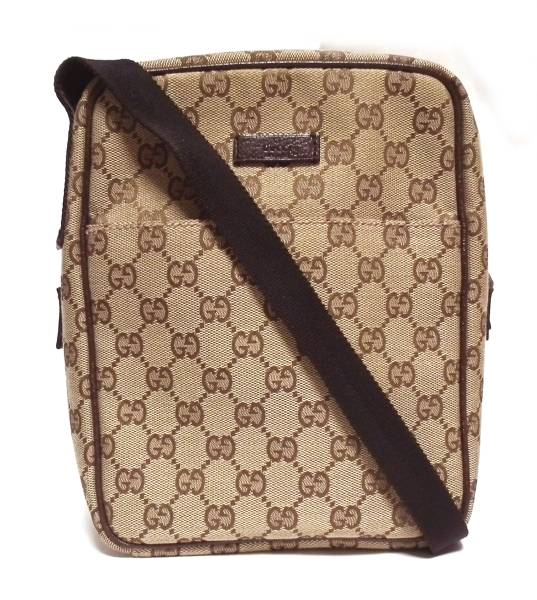 6e6efcfb5828 Brandeal Rakuten Ichiba Shop: Take Gucci slant; shoulder bag GG GG canvas  men gap Dis pochette beige 122759 beauty product GUCCI | Rakuten Global  Market