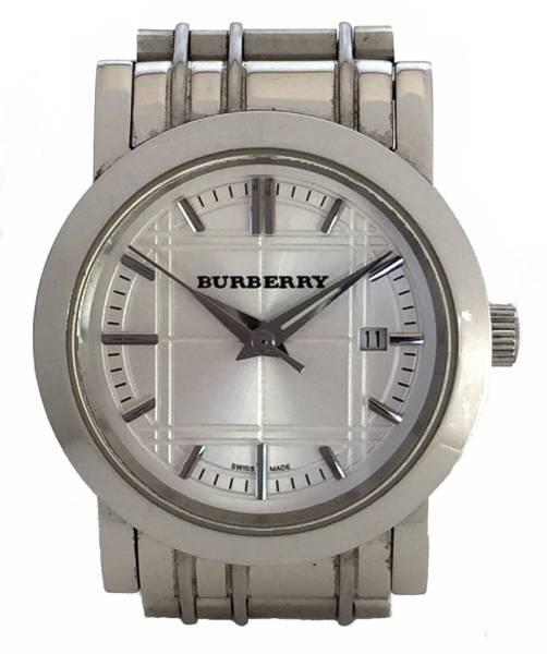 バーバリー 腕時計 レディース チェック 時計 SS ヘリテージ クオーツ シルバー BU1351 BURBERRY ウォッチ 【中古】