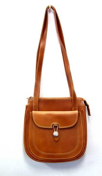 Francesco Biasia Shoulder Bag Leather Lady S Brown Genuine Handbag