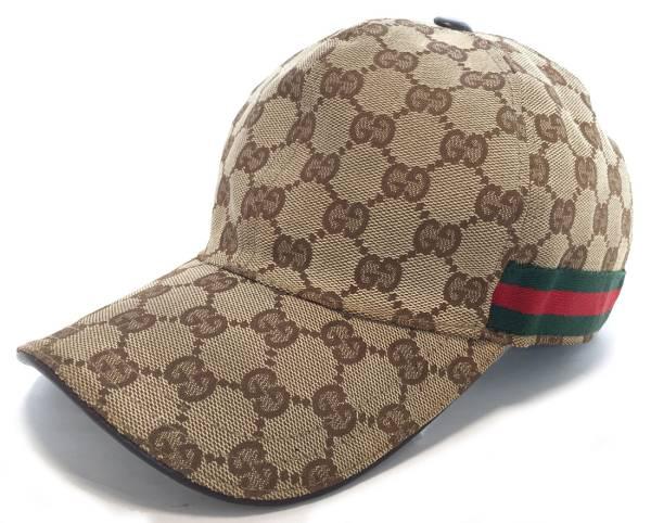 4cf66f378fb Gucci GG canvas cap baseball cap hat kids GG baseball cap GUCCI Lady s  canvas sherry beige M
