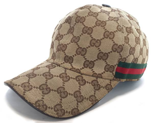 53ac434c0112df Gucci GG canvas cap baseball cap hat kids GG baseball cap GUCCI Lady's  canvas sherry beige ...