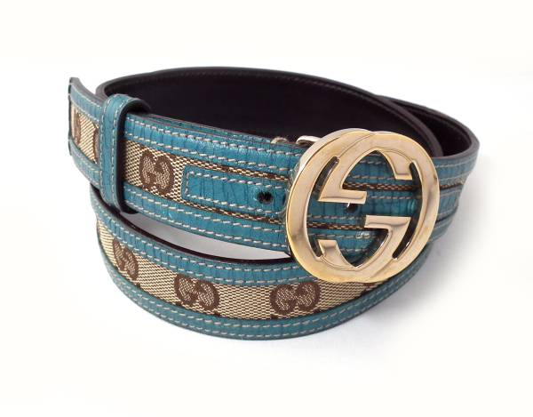 12f66be598a Brandeal Rakuten Ichiba Shop  Gucci belt GG canvas Lady s GG 80cm ...