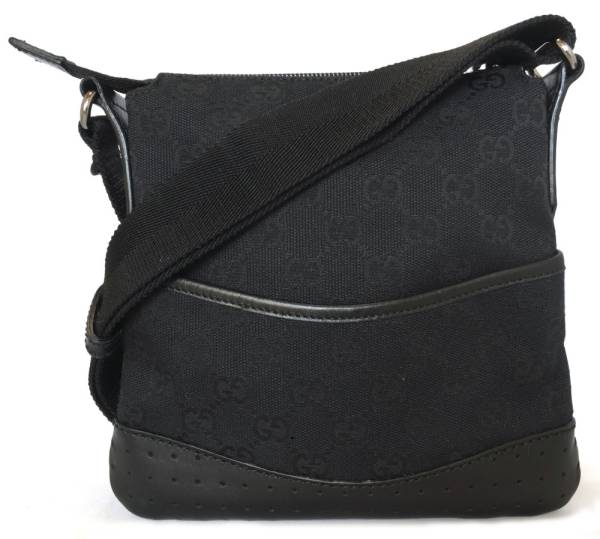 b4f72d2bd14a Take Gucci shoulder bag slant; a GG canvas GG black black pochette GUCCI  men gap ...