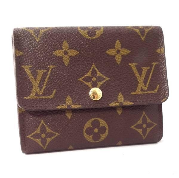 Louis Vuitton wallet ポルトフォイユアナイスモノグラム folio wallet M60402 Lady's men beauty product LV Vuitton LOUIS VUITTON Louis Vuitton Louis Vuitton