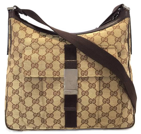 eb979665be9e Take Gucci GG canvas shoulder bag 131211 slant, and take man and woman  combined use ...