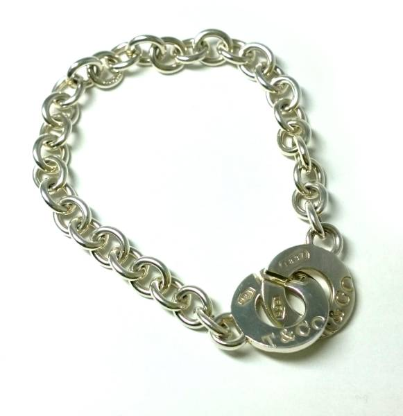 973f20fca Tiffany bracelet 1837 silver Lady's silver 925 TIFFANY T&CO silver  breath chain breath sterling ...