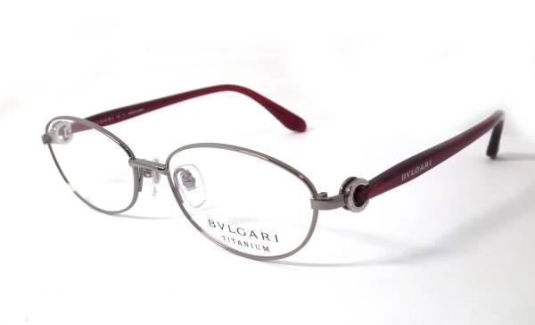 未使用 訳あり ブルガリ メガネ 眼鏡 ビーゼロワン B-zero1 めがね フレーム チタン BLGARI メガネフレーム 【中古】