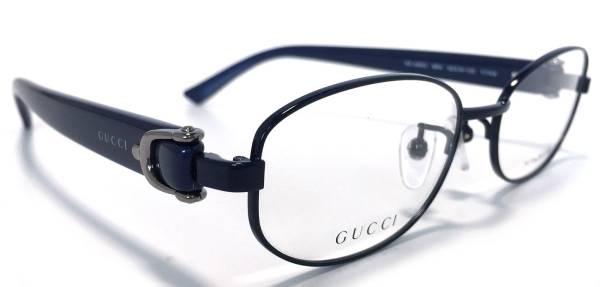 48b45f29be6 Unused Gucci glasses frame titanium glasses glasses titanium navy frame  dark blue bit Lady s glasses GG4269 GUCCI fashion glasses