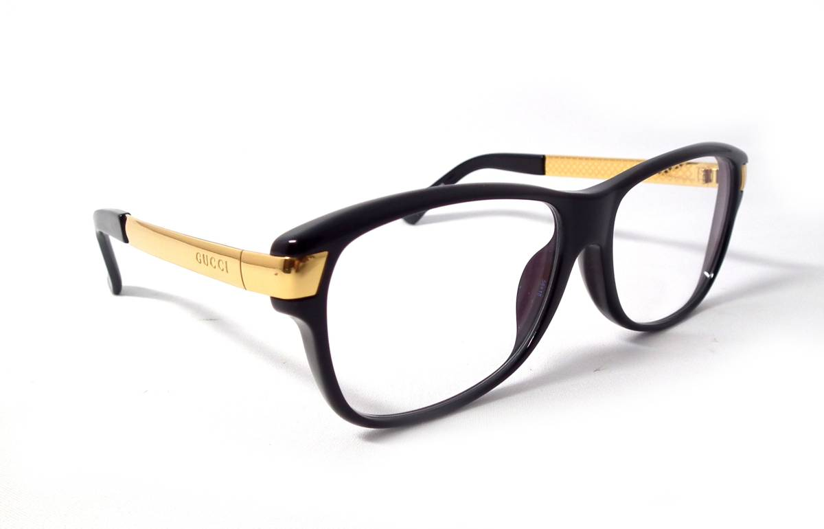 3ca56b80ac2 Gucci glasses glasses frame glasses frame Date glasses glasses GP gold  GG9097 Diamante pattern men gap Dis man and woman combined use GUCCI