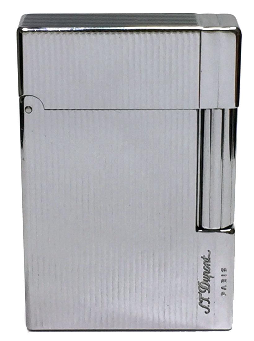 デュポン ライター ガスライター シルバー ギャッツビー エスティーデュポン 快音 S.T.Dupont メンズ 紳士用 喫煙グッズ 【中古】
