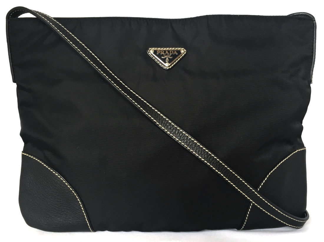 3de56117438e2a I take Prada shoulder bag slant and hang black black nylon men gap Dis  beauty product PRADA man and woman combined use triangle plate slant, and a  shoulder ...