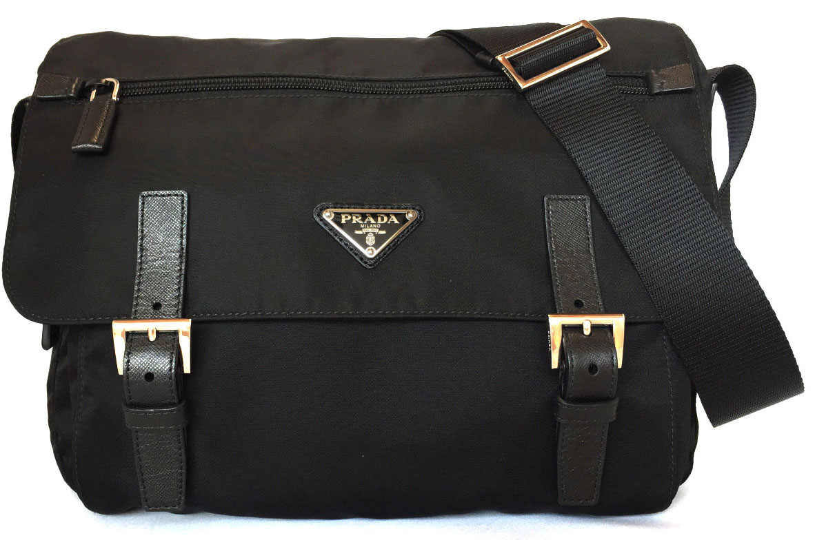 a4bb5d29e0b9b8 ... order take prada shoulder bag nylon black black bt6671 slant as well as  a new article ...