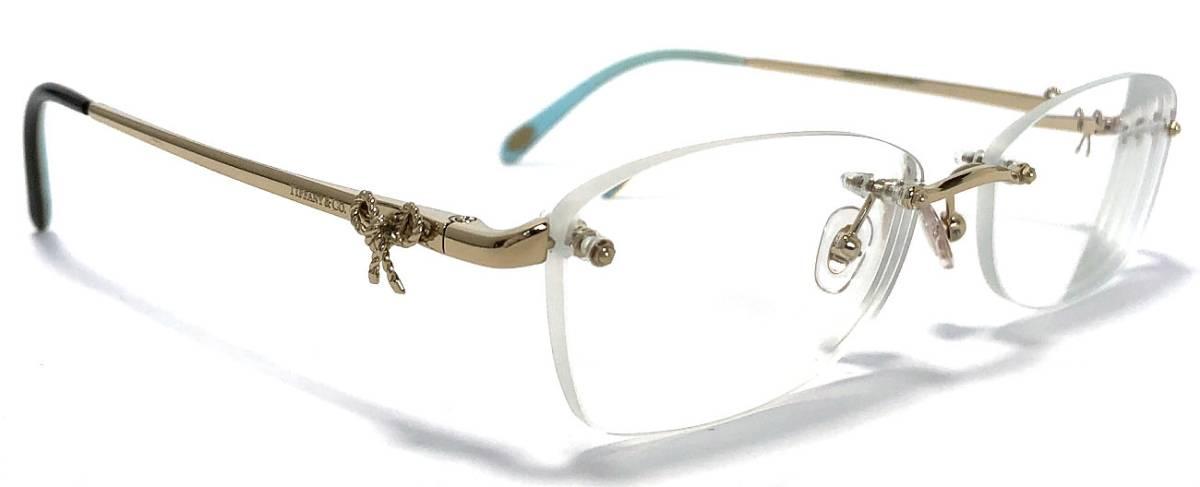 ef267eae50b The gold TIFFANY Lady s TF1101 glasses frame glasses frame Tiffany blue  which there is no unused Tiffany glasses glasses glasses frame ribbon  glasses edge ...